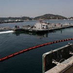 Navy Water barge at Fukushima, 2011
